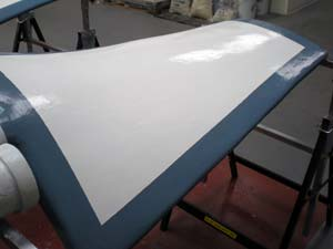 Long-term protection of fan blades using Belzona solutions
