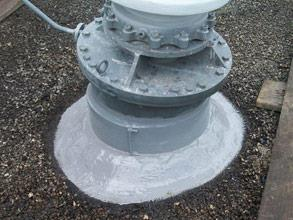 Completed repair of the LV turrets ensuring long-term protection from corrosion and oil discharges