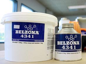 Belzona 4341 (Magma CR4) packaging